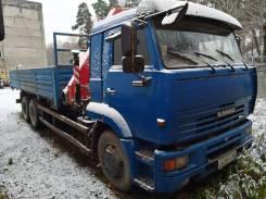 Камаз 65117. Продается С КМУ Fassi F155 (Италия), 10 850 куб. см., 13 000 кг.