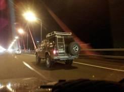 Багажники-корзины. Toyota Land Cruiser Toyota Land Cruiser Prado Nissan Safari Nissan Patrol