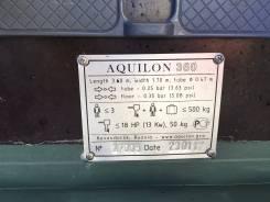 Аквилон. Год: 2017 год, длина 3 600,00м., двигатель подвесной, 9,90л.с., бензин