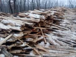 Продам дрова горбыль опилки