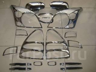 Накладка декоративная. Toyota Land Cruiser Prado, GRJ120, GRJ120W, KDJ120, KDJ120W, KZJ120, LJ120, RZJ120, RZJ120W, TRJ120, TRJ120W, VZJ120, VZJ120W....