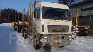 МАЗ 6312. Продам автомобиль сортиментовоз с 3-х осным прицепом, 12 000 куб. см., 23 000 кг.