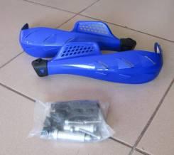 Защита рук на руль (пластик) под руль 22мм синиий
