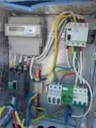 Электрика. Подготовка к подключению дома. Монтаж и сборка щита 220,380.