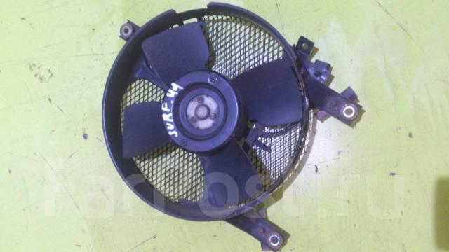 Вентилятор радиатора кондиционера. Toyota Hilux Surf, KZN130G, KZN130W Двигатель 1KZTE