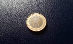 Германия. 1 Евро 2002 года. G.