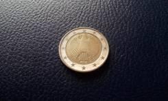 Германия. 2 Евро 2002 года. D.