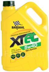 Bardahl XTEC. Вязкость 5W-40, синтетическое. Под заказ