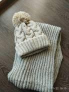 Шапка и шарф. 56, 57, 58, 55-59