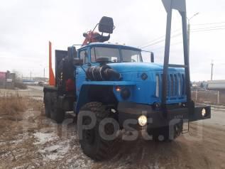 Урал 55571. Лесовоз с гидроманипулятором Атлант-95S. Новый Цена Купить, 6 650 куб. см., 10 000 кг.