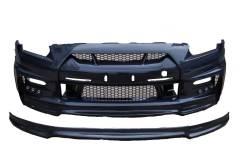 Передний бампер WALD carbon Nissan GTR R35 [CMST17-005]