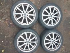 Комплект колёс 215/45R17 5X114.3 из Японии R17 Лето. 7.0x17 5x114.30 ET38
