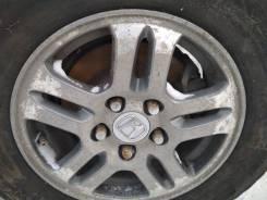 Продам комплект колес 215/70/15 литье на липучке. 6.5x15 5x114.30 ET34 ЦО 88,0мм.