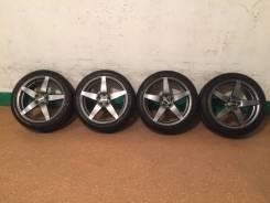 Продам комплект колес Manaray Sport на 17 с зимней резиной. 7.0x17 5x100.00 ET48 ЦО 73,0мм.