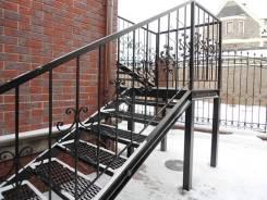 Изготовление лестниц, ворот, металлоконструкции, сварочные работы