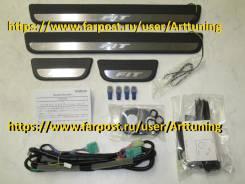 Порог пластиковый. Honda Fit Shuttle Honda Fit, GE9, GE8, GE6, GE7, GP4, GP1. Под заказ