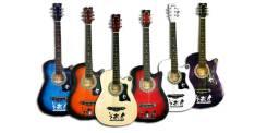 Гитары электроакустические.
