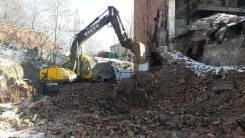 Отдам строительный мусор, грунт