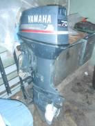 Yamaha. 70,00л.с., 2-тактный, бензиновый, нога L (508 мм), Год: 2003 год