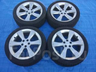 Отличные зимние колеса Subaru 215/45R17 Dunlop. 7.0x17 5x100.00 ET55