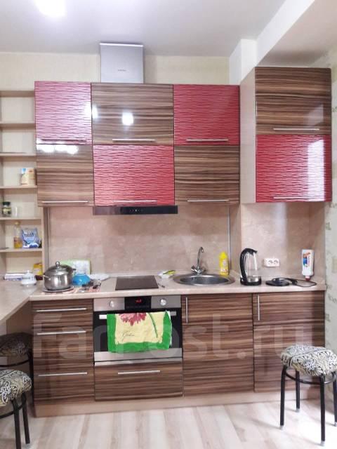 1-комнатная, проспект Красного Знамени 117д. Третья рабочая, 38кв.м. Кухня
