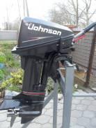 Johnson. 10,00л.с., 2-тактный, бензиновый, нога S (381 мм), Год: 2005 год