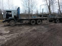 Камаз. Продается бортовой 1988г. в. +прицеп НефАЗ 2003 г. в., 2 000 куб. см., 10 000 кг.
