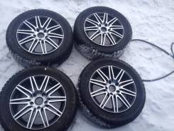 Диски R18 5x130 б. у + шины 255/55 R18 Bridgestone Spike 01 б/у. 7.0x18 5x130.00 ET53 ЦО 71,6мм.