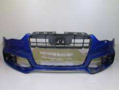 Бампер передний под омыф. фар и парктр audi a5 s5 s-line 11-1 б/у t0. Под заказ