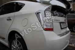 Накладка на стоп-сигнал. Toyota Prius, ZVW30, ZVW30L, ZVW35