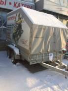 Мзса. Прицеп МЗСА 832134 + ТЕНТ, 1 700 кг.