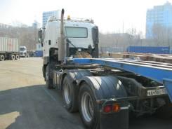 Hino 700. Седельный тягач Hino S700 японской сборки во Владивостоке, 12 913 куб. см., 60 000 кг.