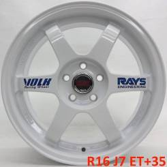 """RAYS VOLK RACING TE37 Gravel. 7.0x16"""", 5x100.00, ET35, ЦО 73,1мм."""