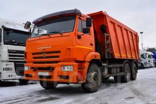 Камаз 6520. Самосвал -43 2015 г/в, 11 762 куб. см., 33 100 кг.