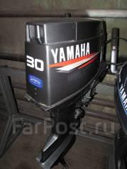 Yamaha. 30,00л.с., 2-тактный, бензиновый, нога S (381 мм), Год: 2005 год