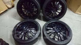 Продам редкие красивые колёса на резине 245/35 R20. 8.5x20 5x114.30 ET38 ЦО 73,0мм.