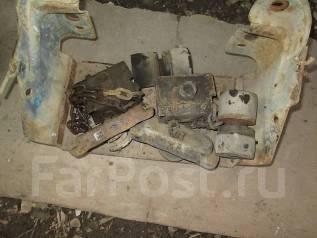 Лебедка запаски на Isuzu ELF NHR55