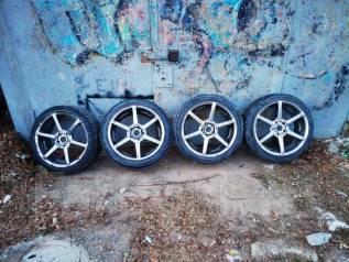 Комплект колес. 8.5/9.5x18 5x114.30 ЦО 60,0мм.