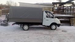 ГАЗ 3302. Газель - тент - инжектор, 2 400 куб. см., 1 500 кг.