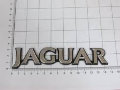 Эмблема шильдик с клеевой основой Jaguar 145х30 мм