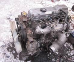 Двигатель в сборе. Toyota ToyoAce Toyota Dyna Toyota Coaster Двигатель 14B