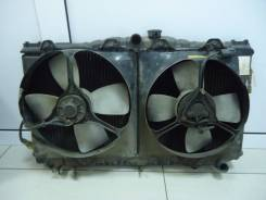 Радиатор охлаждения двигателя. Toyota Sprinter Carib, AE95, AE95G Toyota Corolla, СE90, CE95, CE80, AE95, CE90, 18, 10 Toyota Sprinter, AE95, CE90, CE...