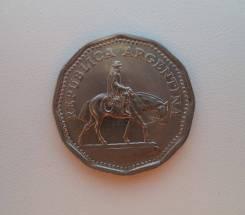 Аргентина, 10 песо 1963 год