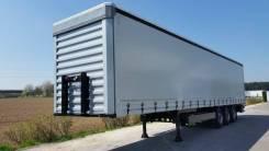 Cimc. Полуприцеп, европрицеп фургон шторник – «Симс», новый, 20 000 кг.