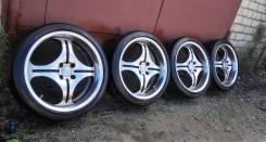 Реально четкий Самурайских комплект колес. 7.0x17 4x100.00 ET-30
