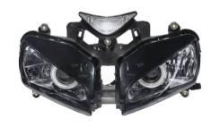 Фары для Honda CBR1000RR, 2004-2007, ангельские глазки, TCMT XF140120