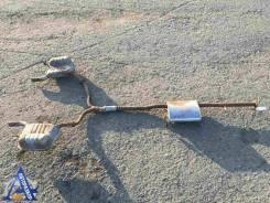 Задняя часть глушителя Chevrolet Captiva (C100) 2006-2010г