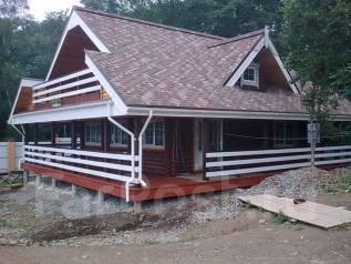 Деревянные дома. Дома из бруса. Дома из бревна.
