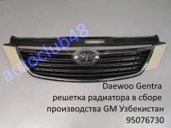 Решетка радиатора. Daewoo Gentra, KLAS Ravon Gentra Двигатель B15D2. Под заказ
