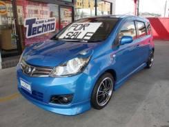 Nissan Note. механика, передний, 1.6, бензин, 44 000 тыс. км, б/п, нет птс. Под заказ